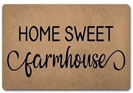 farmhouse doormat welcome door rugs