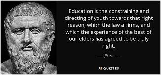 plato quote education is the constraining and directing of youth
