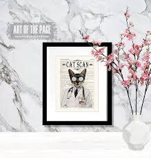 Doctor Cat print Cat Scan 8.5 x 11 | Etsy