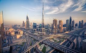تحميل خلفيات برج خليفة دبي بانوراما Buildungs ناطحات السحاب