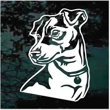 Jack Russell Terrier Car Decals Stickers Decal Junky