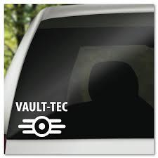 Fallout 4 Vault Tec Vault Tec Logo Vinyl Decal Sticker Etsy