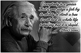 com math posters science posters albert einstein quote