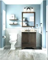 blue grey bathroom walls floor wall
