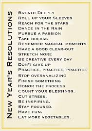 inspirational clipart new year resolution quotes