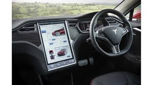 Tesla Model s RHD dash interior 1 ...