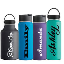 Name Decal Hydro Flask Water Bottle Sticker By Vinylworksdesign Hydro Flask Water Bottle Flask Water Bottle Water Bottle Decals Vinyls
