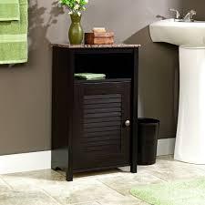 bathroom floor cabinet with doors
