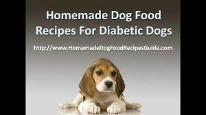 homemade dog food recipes for diabetic