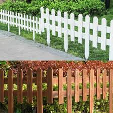 12x Plastic Fence Courtyard Indoor Garden Edging Border Panel Flower Yard Decor Buy At A Low Prices On Joom E Commerce Platform