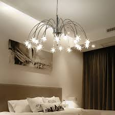 Promo Kids Room Star Chandeliers Children Nursery Girl Chandelier Lighting Interior Home Decor Lustre Suspension Pendant Lamp