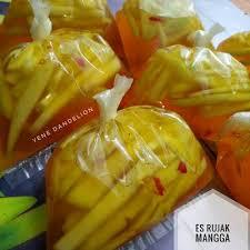 resep es rujak mangga dandelion oleh