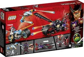 70639 LEGO® NINJAGO Road race of the snake jaguars