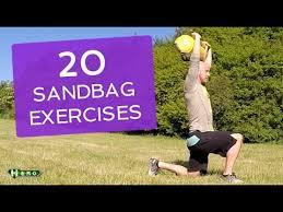 20 sandbag exercises you