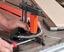 Table Saw Maintenance Miter Gauge And Rip Fence