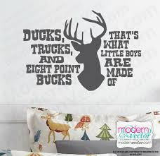 That S What Boys Are Made Of Quote Vinyl Wall Decal Sticker Boys Country Theme Ebay