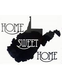 Home Decal West Virginia Car Window Decal Wv Home Roots A2btravel Ge