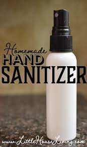 homemade hand sanitizer spray with