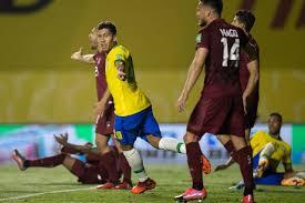 Brasil vence Venezuela por 1 a 0 e mantém 100% de aproveitamento nas  Eliminatórias