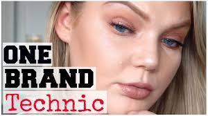 one brand tutorial technic cosmetics