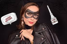 catwoman mask using brow