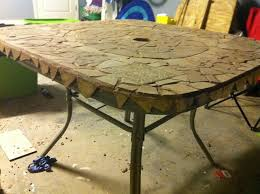 patio table top replacement diy