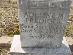 "Adeline Mary ""Addie"" Morgan Prediger (1866-1922) - Find A Grave Memorial"