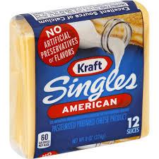 kraft singles american cheese slices 12