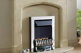 gas fire or central heating which