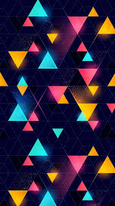 87 geometric iphone wallpapers on