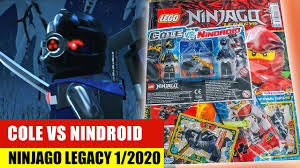 Lego Ninjago Legacy 1/2020 Cole vs Nindroid - YouTube