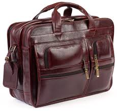 manufacturer of leather executive bags