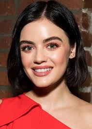 lucy hale proves green eyeshadow can