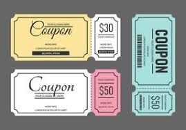 Coupon Template Free Vector Art - (4,031 Free Downloads)
