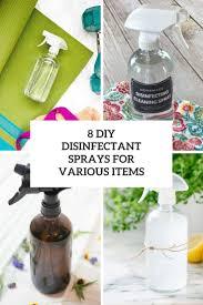 8 diy disinfectant sprays for various