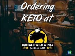ordering keto at buffalo wild wings