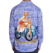 Robert Graham Summer Cruising Limited Edition Sport Shirt - Blue