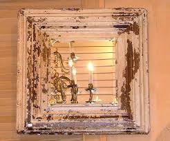 antique tin ceiling tile mirror tin