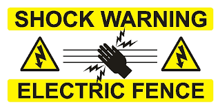 Electric Fence Sign Wor016 Health And Safety Signs Posters Banners From Print2logistics