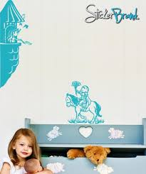 Vinyl Wall Decal Sticker Princess In Castle Tower Knight On Horse Gfoster140 Stickerbrand