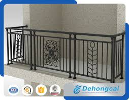 China New Design Decorative Wrought Iron Fence For Balcony China Fence Wrought Iron Fence