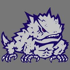 Tcu Horned Frogs 4 Floral Round Decal For Sale Online Ebay