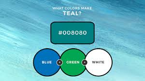what colors make teal how to make teal