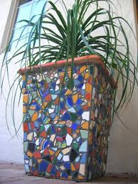 mosaic pots mosaic