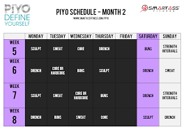 piyo workout review smart fitness
