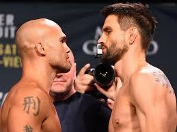 Robbie Lawler vs Carlos Condit fight ...