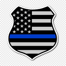 Flag Of The United States The Thin Red Line Thin Blue Line Car Sticker Collection Flag Police Officer Png Pngegg