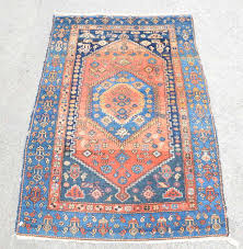 persian rug the central panel