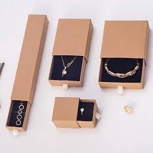 china kraft packaging jewelry bo