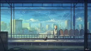 wallpaper cat window cityscape